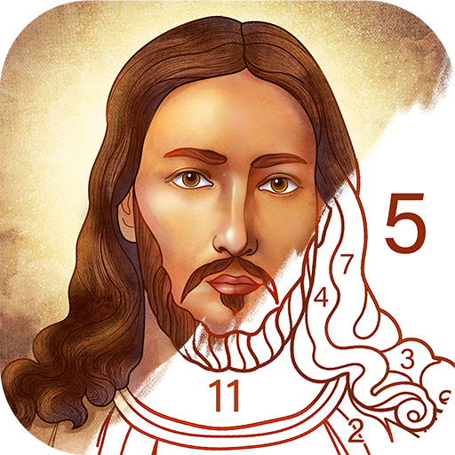 Bible Coloring – Paint by Number, Free Bible Games 2.13.1  Android Modded file download (Unlimited money,Mod) apk no root