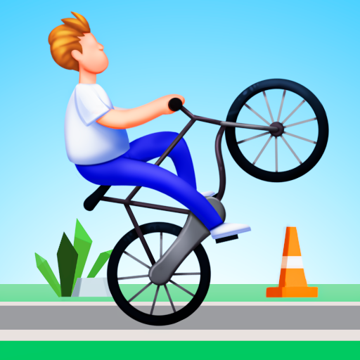 Bike Hop: Be a Crazy BMX Rider!  Android Modded file download (Unlimited money,Mod)1.0.46   apk no root