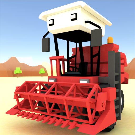 Blocky Farm Racing & Simulator – free driving game  Android Modded file download (Unlimited money,Mod)1.25   apk no root