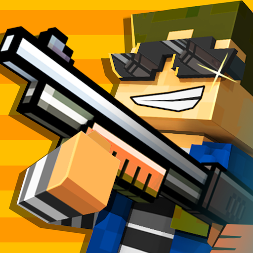 Cops N Robbers – 3D Pixel Craft Gun Shooting Games 9.5.0 Android Modded file download (Unlimited money,Mod) apk no root9.6.2