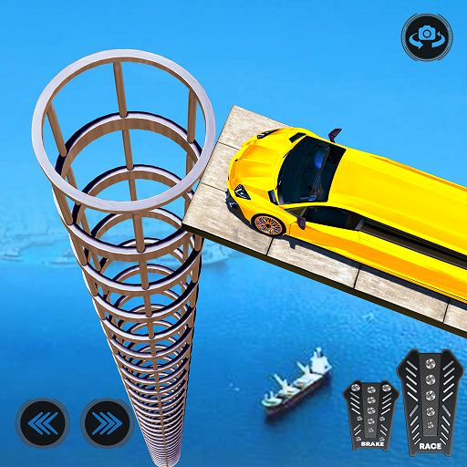 Cyber Car Stunts Mega Ramp 1.12 Android Modded file download (Unlimited money,Mod) apk no root