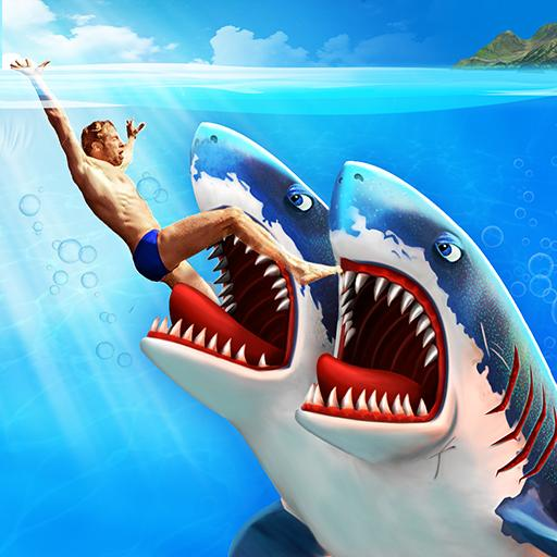 Double Head Shark Attack – Multiplayer  Android Modded file download (Unlimited money,Mod)8.5 apk no root