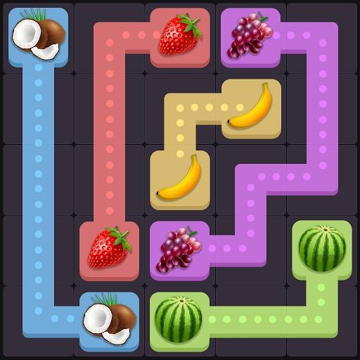 Fruit Puzzle King: Line Art Link Kids Free Game  Android Modded file download (Unlimited money,Mod)0.8  apk no root