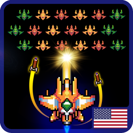 Galaxiga Classic Arcade Shooter 80s – Free Games  22.04 (Unlimited money,Mod) for Android