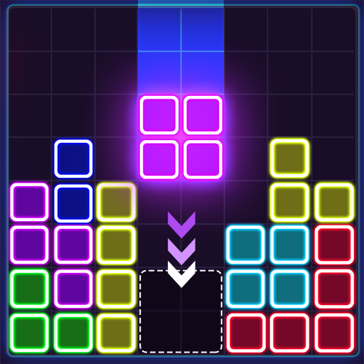 Glow Block Puzzle  Android Modded file download (Unlimited money,Mod)1.8.8  apk no root