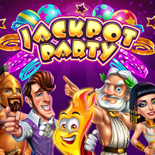 Jackpot Party Casino Games: Spin FREE Casino Slots  5020.00 (Unlimited money,Mod) for Android