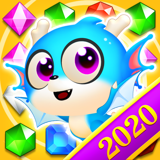 Jewel Blast Dragon – Match 3 Puzzle  Android Modded file download (Unlimited money,Mod)1.13.10  apk no root