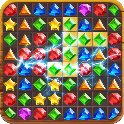 Jewels Jungle Treasure: Match 3 Puzzle  1.9.0 (Unlimited money,Mod) for Android