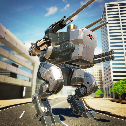Mech Wars: Multiplayer Robots Battle  Android Modded file download (Unlimited money,Mod)1.408  apk no root