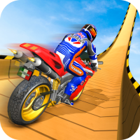 Mega Ramp Moto Bike Stunts: Bike Racing Games 2.3.8 Android Modded file download (Unlimited money,Mod) apk no root