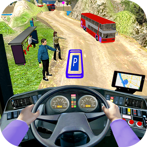 Modern Bus Drive 3D Parking new Games-FFG Bus Game 2.40 Android Modded file download (Unlimited money,Mod) apk no root