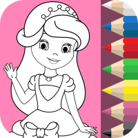 Princess Coloring Book ❤ 1.8.6  Android Modded file download (Unlimited money,Mod) apk no root