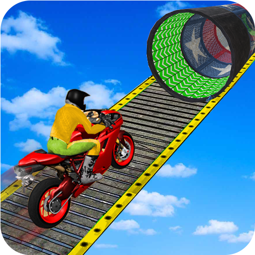 Racing Moto Bike Stunt Impossible Track Game  1.22 (Unlimited money,Mod) for Android