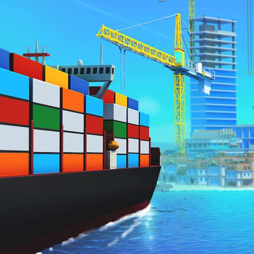 Sea port: Ship Simulator & Strategy Tycoon Game  1.0.169 (Unlimited money,Mod) for Android