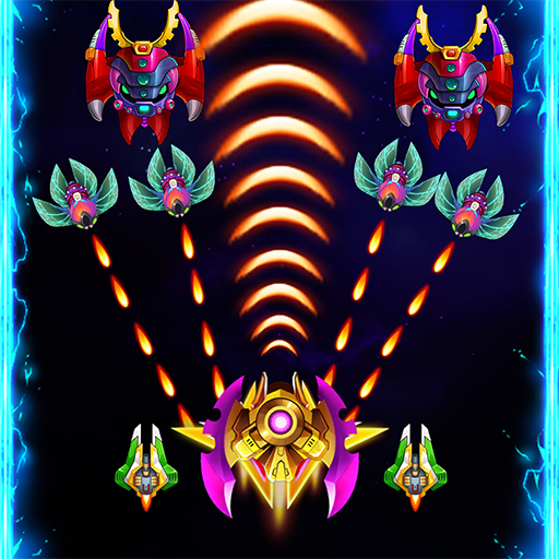 Space attack – infinity air force shooting  Android Modded file download (Unlimited money,Mod)2.2  apk no root