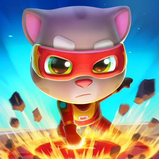 Talking Tom Hero Dash – Run Game  Android Modded file download (Unlimited money,Mod)1.5.1.842  apk no root