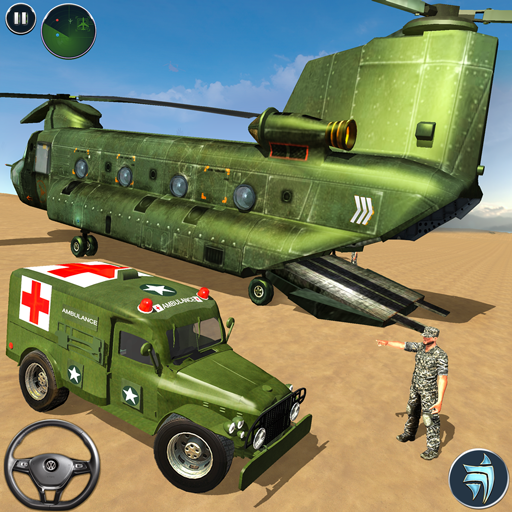 US Army Ambulance Driving Game 2.6 Android Modded file download (Unlimited money,Mod) apk no root