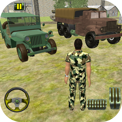 US Army Off-road Truck Driver 3D  Android Modded file download (Unlimited money,Mod) apk no root