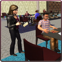 Virtual Waitress : Hotel Manager Simulator 1.04 Android Modded file download (Unlimited money,Mod) apk no root