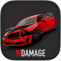 WDAMAGE: Car Crash Engine 85 Android Modded file download (Unlimited money,Mod) apk no root