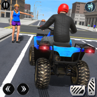 ATV Quad Bike Simulator 2018: Bike Taxi Games  Android Modded file download (Unlimited money,Mod)2.9  apk no root