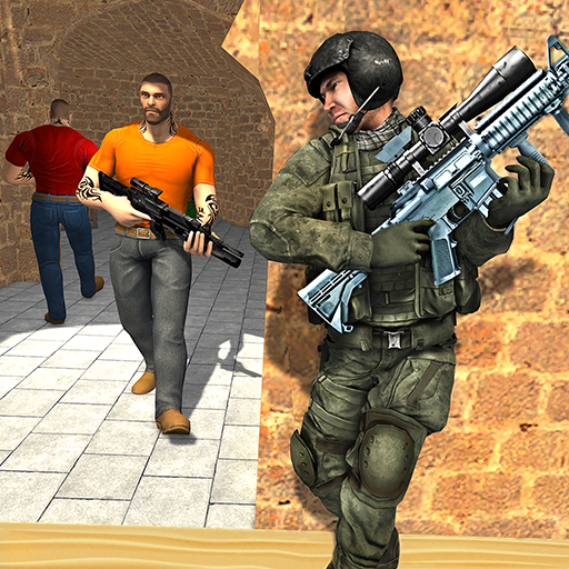 Anti-Terrorist Shooting Mission 2020  Android Modded file download (Unlimited money,Mod)4.0 apk no root