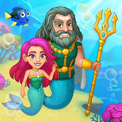 Aquarium Farm: fish town, Mermaid love story shark  Android Modded file download (Unlimited money,Mod)1.29    apk no root