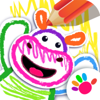 Bini DRAW & DANCE! Kids Coloring Apps for Toddler!  Android Modded file download (Unlimited money,Mod)1.2.1.2  apk no root