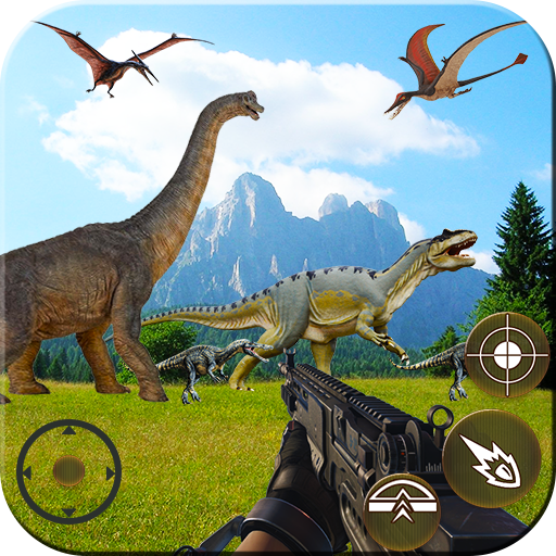 Deadly Dinosaur Hunter Revenge Fps Shooter Game 3D  Android Modded file download (Unlimited money,Mod) apk no root 1.7
