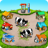 Farm Frenzy Free Time management games offline 🌻  1.3.8 (Unlimited money,Mod) for Android