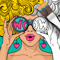 Girls Coloring Book  Android Modded file download (Unlimited money,Mod) 3.0.10 apk no root
