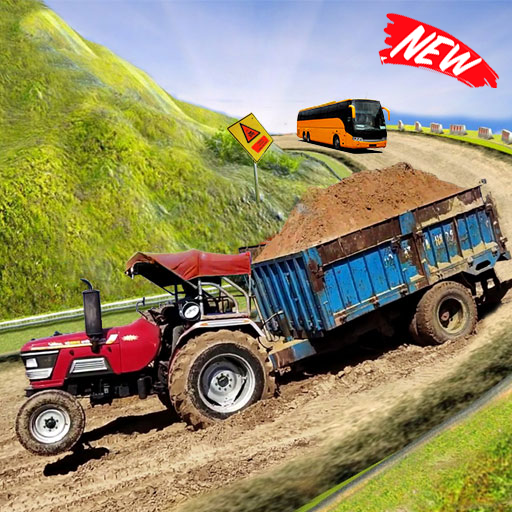 Heavy Tractor Trolley Cargo Simulator 3d Truck  Android Modded file download (Unlimited money,Mod)1.0  apk no root