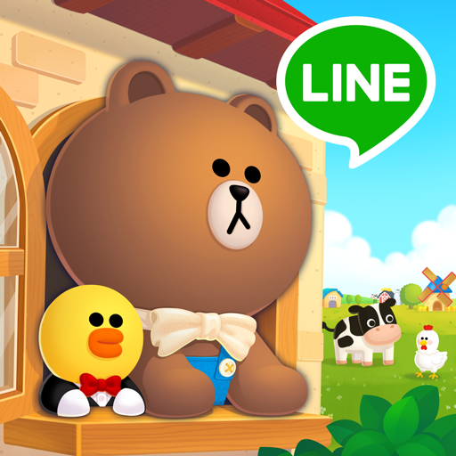 LINE BROWN FARM  Android Modded file download (Unlimited money,Mod)  3.1.6apk no root