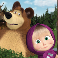 Masha and the Bear. Educational Games  Android Modded file download (Unlimited money,Mod)5.1  apk no root