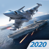 Modern Warplanes Sky fighters PvP Jet Warfare 1.17.1 (Unlimited money,Mod) for Android