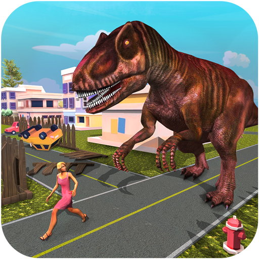 Monster Dinosaur Simulator: City Rampage  Android Modded file download (Unlimited money,Mod)1.10  apk no root