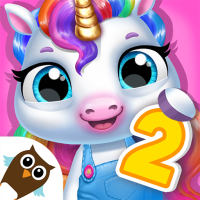 My Baby Unicorn 2 – New Virtual Pony Pet  Android Modded file download (Unlimited money,Mod)1.0.39  apk no root