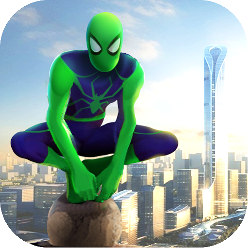 Spider Rope Hero – Gangster Crime City  Android Modded file download (Unlimited money,Mod) apk no root