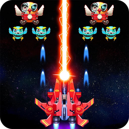 Strike Galaxy Attack: Alien Space Chicken Shooter  Android Modded file download (Unlimited money,Mod)10.0  apk no root