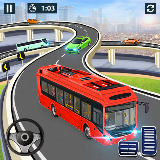 City Coach Bus Simulator 2021 – PvP Free Bus Games  1.2.6 (Unlimited money,Mod) for Android