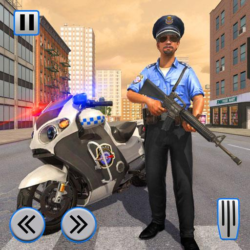 Police Moto Bike Chase Crime Shooting Games  2.0.16 (Unlimited money,Mod) for Android