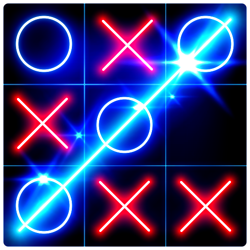 Tic Tac Toe Glow  8.4 (Unlimited money,Mod) for Android