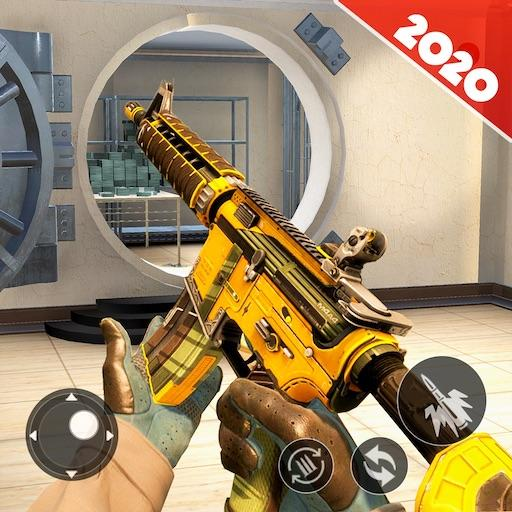 Bank Robbery SSG Shooting Game 2020  (Unlimited money,Mod) for Android 1.15