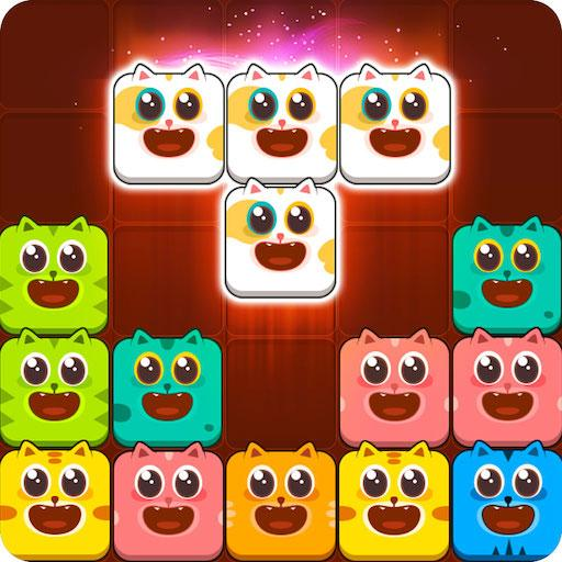 Block Crush™ – Cute Kitty Puzzle Game  (Unlimited money,Mod) for Android 1.3.1