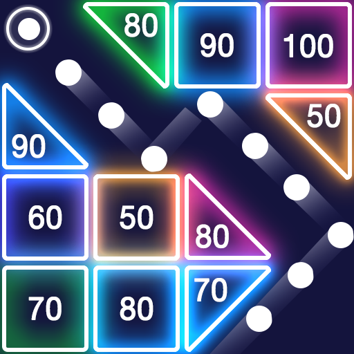 Bricks Breaker – Glow Balls  (Unlimited money,Mod) for Android 1.13.207