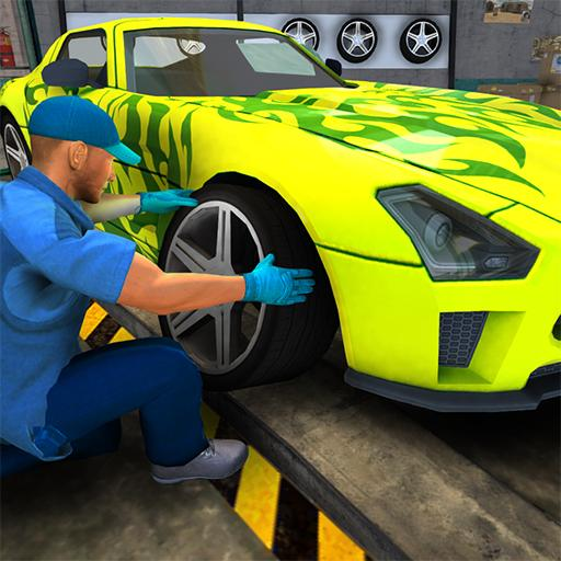 Car Mechanic Simulator Game 3D  (Unlimited money,Mod) for Android  1.0.4