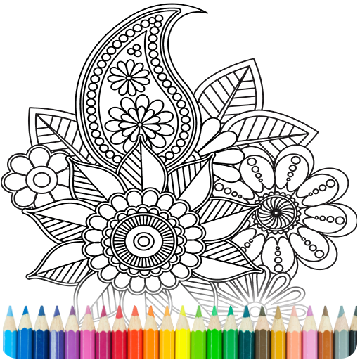 Coloring Book for Adults  (Unlimited money,Mod) for Android 7.2.0