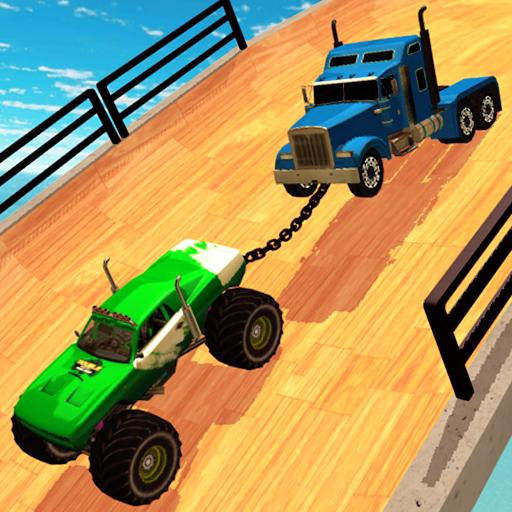 Double Impossible Mega Ramp 3D – Car Jump & Drift  (Unlimited money,Mod) for Android  4.1