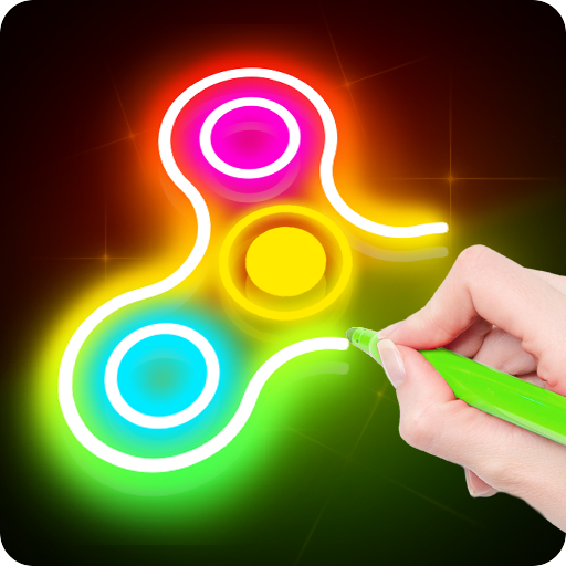 Draw Finger Spinner  (Unlimited money,Mod) for Android 1.0.3