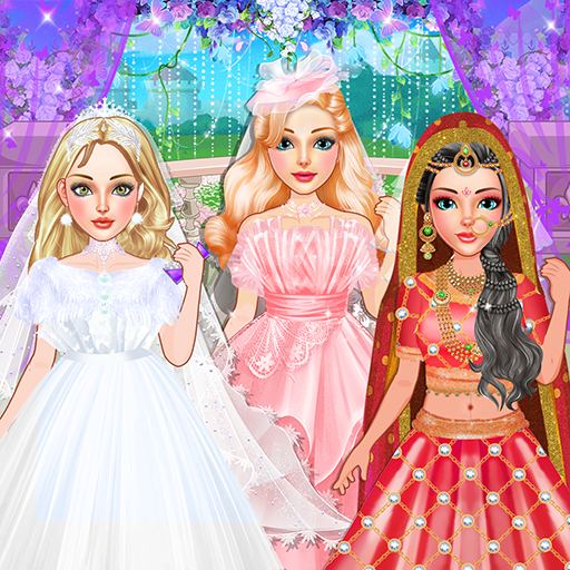 Fashion Wedding Dress Up Designer: Girls Games  (Unlimited money,Mod) for Android 1.10.1
